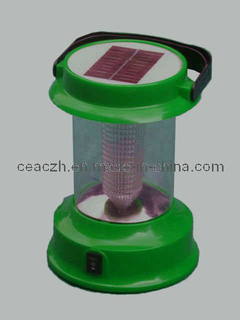 Solar Protable Camping Light with FM