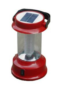 Solar Protable Camping Lamp with FM/ Phone Charger