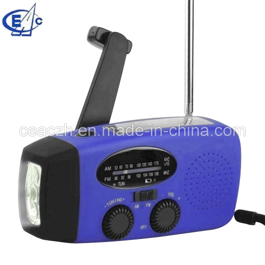 Solar crank Radio with torch