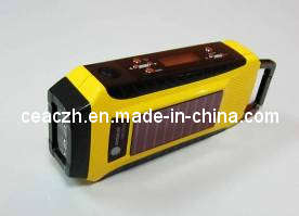 Solar Dynamo Radio/Solar Hand Crank Radio with Flashlight